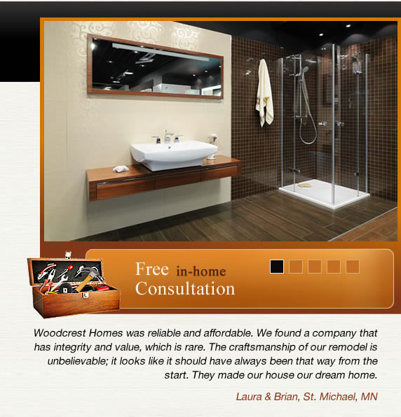 Bathroom Remodeling Minneapolis   Home Renovation, MN   Woodcrest Homes LLC